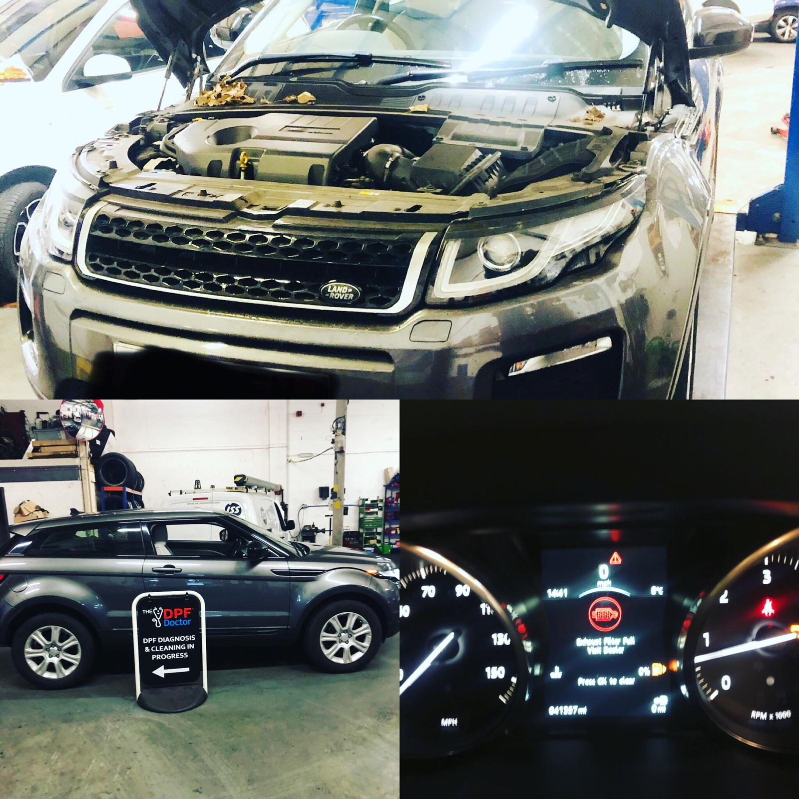 Range Rover Evoque P2463 P246B