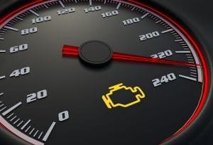 Engine Management Warning Light